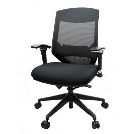 Vogue Mid Back Mesh Chair - Black Nylon Base