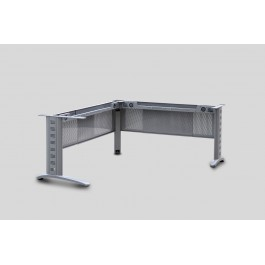 Metal Corner desk frame adjustable