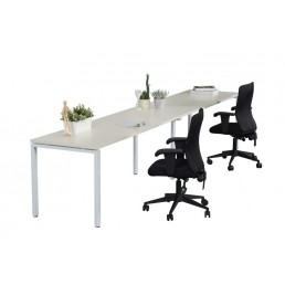 Single Sided No Screens Work Station With Profile Leg 1200x700