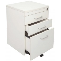 Metal Mobile Pedestal Drawers Lockable Filing Storage