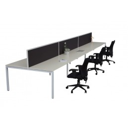 Double Sided With Screens With Profile LEG 1800x700