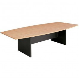 Office Boardroom Table Boat Shape H Base