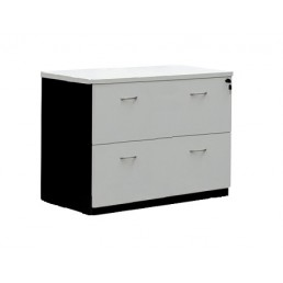 Office Lateral Filling Cabinet 2 Drawer Office Storage Furniture Multi Colour Option