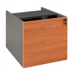 OM Fixed Desk Pedestal 1 Drawer + 1 File Multi Colour Option