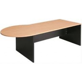 OM P Shape Office Desk Multi Colour Option