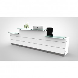 Polaris Reception Counter Straight Deluxe   W4200*D805*H1120 code: FB