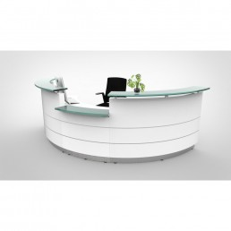 Polaris Reception Counter Round  Reception - code: FCIRH