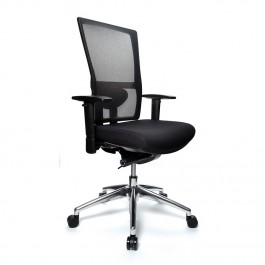 Koda 24/7 Ergonomic Mesh Back Chair Aluminium Base Multi Colour