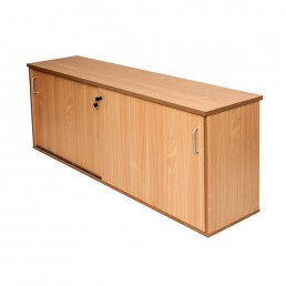 Lockable Sliding Door Credenza W1800 / W 1200