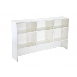 Office Overhead Hutch Bookcase W1200 / W1800mm
