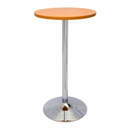 Chrome Base Dry Bar Round Table 1075MM X 600MM