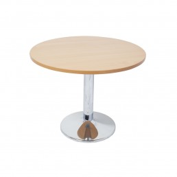 Chrome Base Round Table 730H-1200MM
