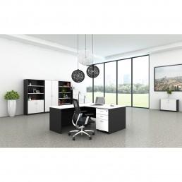 SUIT5 Office Desk + Chiar + Cabinet $3999-$4500