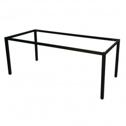 Frame Only - Steel Frame Table Black 900H
