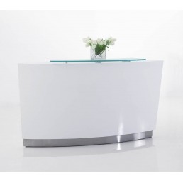 Evo Reception Counter  (Single Lower or  Standard Height Unit) W1870mm