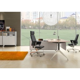 Potenza Height Adjustable Executive Desk
