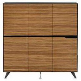Novara Executive Cabinet with 6 Doors Multiple Heights