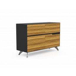 Novara Executive Cabinet with 4 Drawers W1244mm