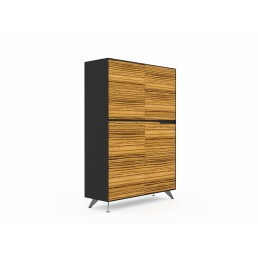 Novara Executive Cabinet with 4 Doors