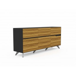 Novara Executive Cabinets with 6 Drawers W1400mm