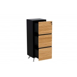 Novara Filing Cabinet with Three Drawers W485mm