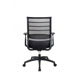 Onyx Mesh Back Chair Fabric Seat