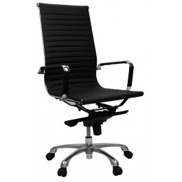Eames Replica Genuine Leather High Back Executive Chair