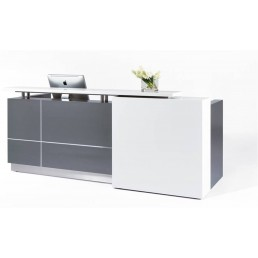 Calvin Stylish Office Reception Counter  W2100mm