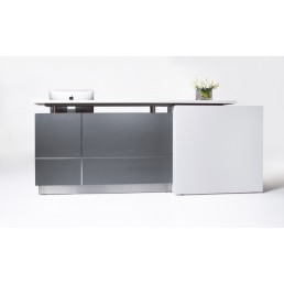Calvin Stylish Office Reception Counter W3200mm