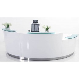 Evo Reception Counter EVO3LL/R (Two Standard High Plus One Lower Height) W3705