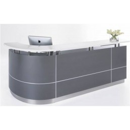 Executive Office Reception Counter - C Shape W3700mm
