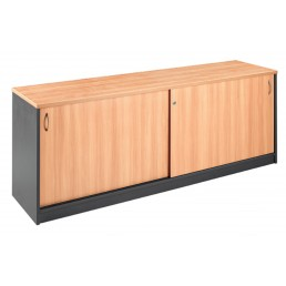 NEW Office Sliding Door Buffet Lockable Office Storage Cabinet Multi Option