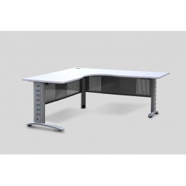 Metal Corner desk frame adjustable