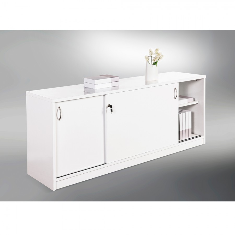 Prime Sliding Door Buffet Lockable Office Storage Cabinet Gloss Best Image Libraries Weasiibadanjobscom