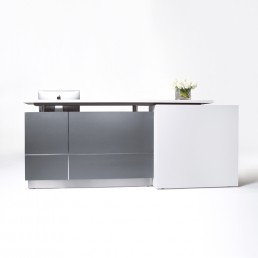 Calvin Stylish Office Reception Counter W2500mm