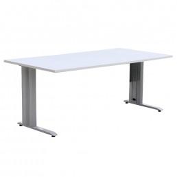 Office Desk with Rectangular Metal Frame