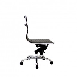 Eames Executive Medium Back Chair PU (No Arm)