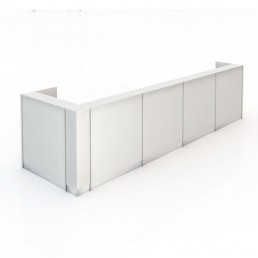 Kent Office Reception Counter Multi Option 4900mm