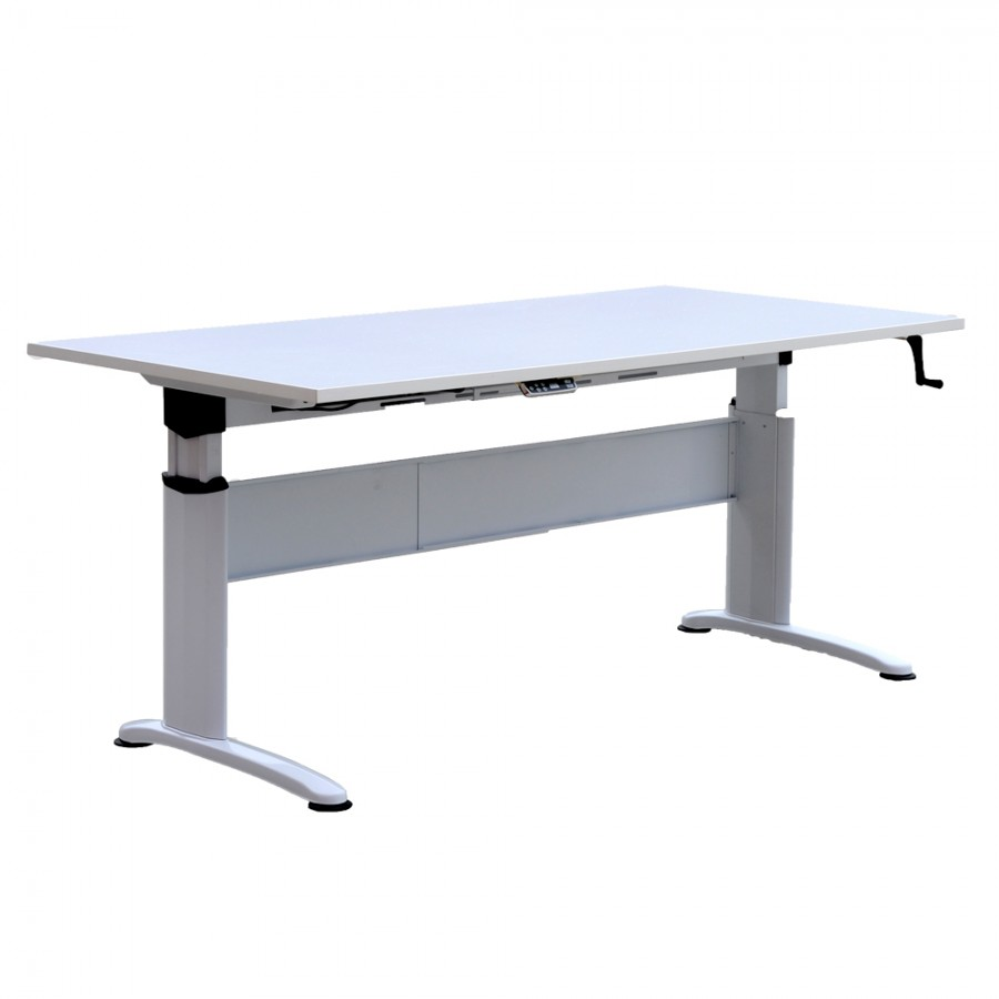 Phenomenal Electric Height Adjustable Metal Frame Desk Download Free Architecture Designs Embacsunscenecom