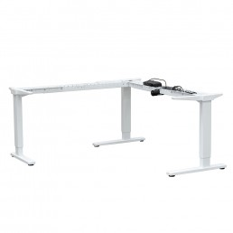 Frame Only - Auto adjustable workstation frame with three motors