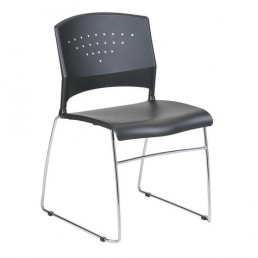 Lynx Stackable Traning Chair with Chrome Frame