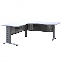 Workstation Corner Desk with Modesty Panels