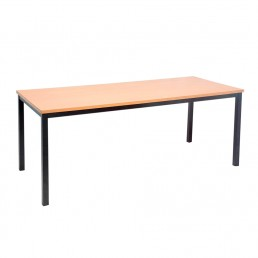 Office Desk Metal Table Frame with Cylinder Legs