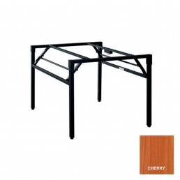Study Folding Table with Metal Frame & Cherry Top 1800x900mm