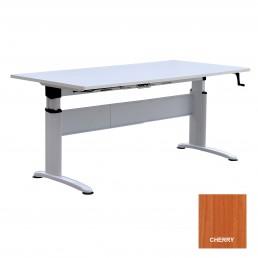 Electric Height Adjustable Metal Frame Desk