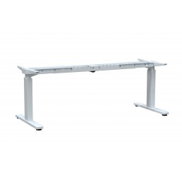 Frame Only - Electric Height Adjustable Desk Metal with Single Motor