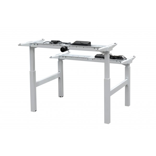 Electric Height Adjustable Sit Stand Desk - Twin Motor
