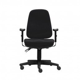 ErgoSelect Scoop Premium Ergonomic Chair with Arms Multi Colour