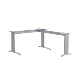 Frame Only - Corner Workstation Desk & Return Metal